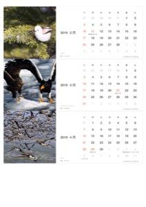 S-WBSJ 40thカレンダー2019-2-3-4月(PDF)