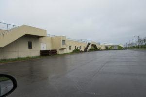 集合場所は「手稲水再生プラザ駐車場」