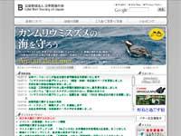 日本野鳥の会ウェブサイトイメージ