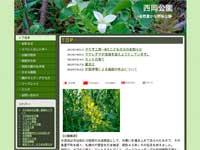 西岡公園ウェブサイトイメージ